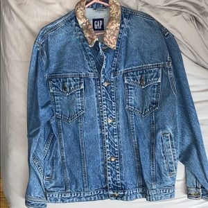 Vintage Oversized Gap Jean Jacket